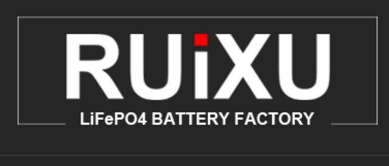 screenshot of the ruixu website