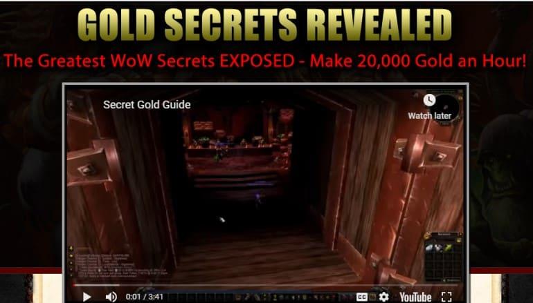 Hayden gold farming guides screenshot