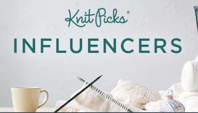 screenshot of the knit picks website