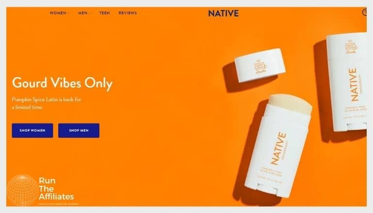 Can You Make Money With The Native Deodorant Affiliate Program?