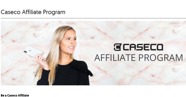 caseco affiliate program screenshot