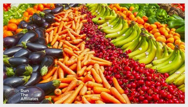 carrots apples and other fruits and vegetables