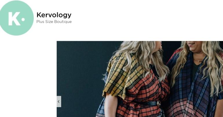 screenshot of the kurvology website