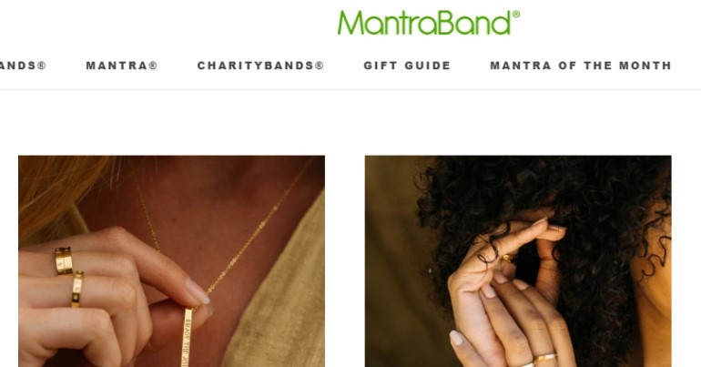 screenshot of the matragand website