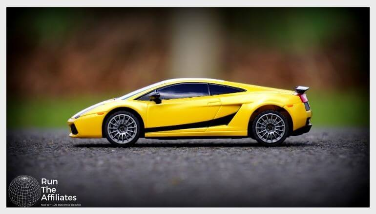 diecast sports car