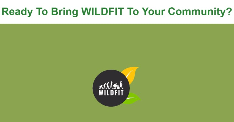 screenshot of the wildfit affiliate webpage
