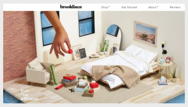 brooklinen screenshot